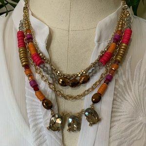 Loft - luscious multi layer necklace